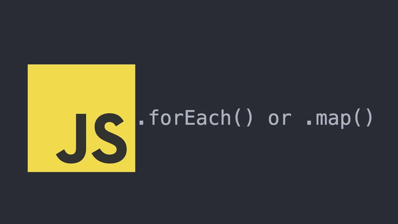 Map() vs. forEach()
